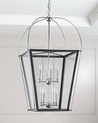 8 light foyer pendant