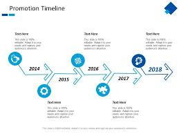 Promotion Timeline Year Process Ppt Powerpoint Presentation