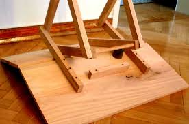 This portuguese folding table is compact, sturdy and strong. Folding Table