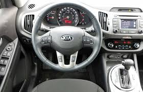 kia sportage 2015 interior. the 2015 kia sportageu0027s interior is logical and fit finish good sportage