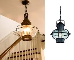 elegant nautical outdoor lights of themed lighting