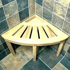 teak shower bench wall mounted folding fold down