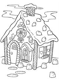 Small Picture Delicious Gingerbread House Coloring Page NetArt