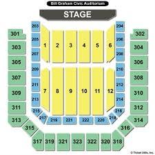 20 Best Bill Graham Civic Auditorium Seating Chart