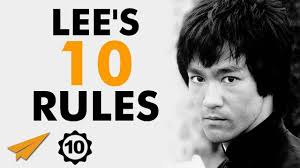 Bruce Lees Top 10 Rules For Success