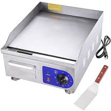 images gallery 1500w electric countertop griddle flat top commercial restaurant grill bbq