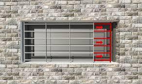 Ausziehbare Fenstergitter Reagieren Sie Flexible Auf Vorhandene