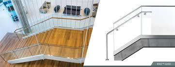 structural glass railing system