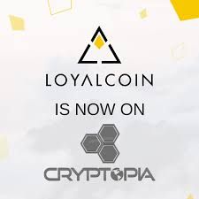 Loyalcoin Is Now On Cryptopia How To Use Cryptopia Heres