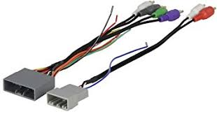 amazon com scosche radio wiring harness for 2006 up honda civic scosche radio wiring harness for 2006 up honda civic non nav amp integration harness