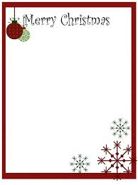 Making A Letter Head Printable Christmas Stationery To Use For The Holidays