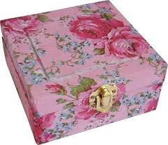 Decorating Boxes With Paper Decorate Wood With Paper Napkins How To Make A Decoupage Box 25