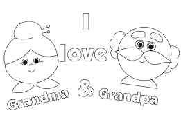 When you need a halloween card but haven't got time to go to the shops or colour one in. Grandparents Day Coloring Pages Best Coloring Pages For Kids