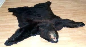 fake bear skin rug with head bear skin rugs faux bear skin rug with head childhood