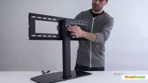 Tv Stands For 50 Flat Screens Shopjimmy Universal Tv Stand Base For 37 55 Tvs Install