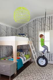 Lego Wallpaper For Bedroom 25 Cool Kids Bedrooms That Charm With Gorgeous Gray
