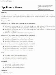 Resume Template Pdf Download Blank Resume format Download Inspirational Blank Resume Template Pdf 47
