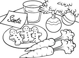 Gingerbread Outline Coloring Pages Child Coloring Page Coloring