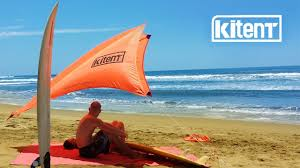 kitent the floating beach tent for sun shade