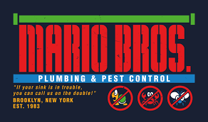 brothers pest control. Delighful Brothers Mario Bros Plumbing And Pest Control Colour By Wildwing64  Intended Brothers T