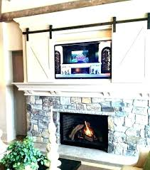 mounting tv above brick fireplace above fireplace hiding wires above brick fireplace hide wires mount how