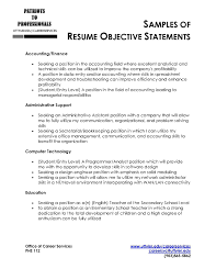 Examples Of A Resume Objective Physical Therapy Resume Objective Statements Mary Jane