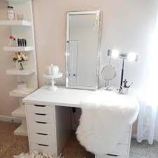 Vanity table Bedroom Elegant White Ikea Vanity Table Stayglam 23 Musthave Makeup Vanity Ideas Page Of Stayglam