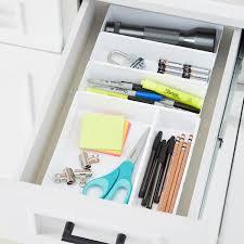 Interlocking Drawer Organizers Junk Drawer Starter Kit ...