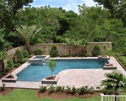 Corner Pool design Inground Pools Designed for Backyard Living -  Residential Gallery