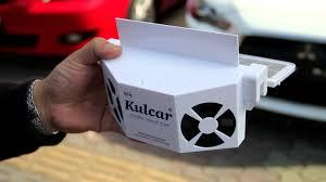 Solar Power Cooler Made In Taiwan Kulcar Solar Car Cooler Youtube