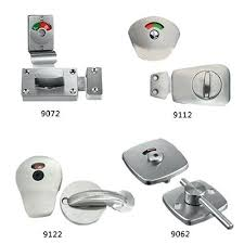 bathroom stall parts. Bathroom Stall Door Locks Partitions Parts Toilet Hardware Lift To Lock Disabled