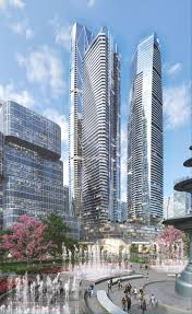 architecture blueprints skyscraper. Perfect Blueprints Image 14 Of 19 From Gallery Hariri Pontarini Architects Unveil  Waterfront Skyscraper Development For Toronto Courtesy In Architecture Blueprints