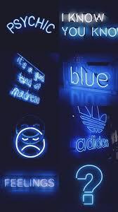 Wallpaper Aesthetic Blue