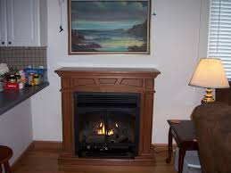 montclaire vent free gas fireplace mantel customer pic from mary in mississippi