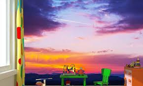 purple mountain sunset 840 mm 1200 mm