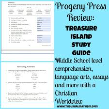 progeny press treasure island review the usual hem it is a meaty and thorough guide and i look forward to using more of their products in the future next up the adventures of tom sawyer study guide