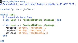 Google Protocol Buffers Ruby Programming My Thoughts