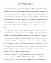 Example Of Argument Essays Argument Essay Example Literature Essay Sample Synthesis Essays