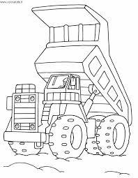 Disegni Di Escavatori Da Colorare Disegno