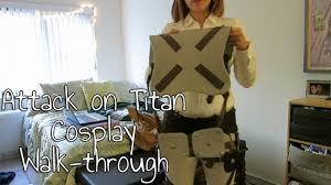 <b>Attack on Titan Cosplay</b> Walk-through - YouTube