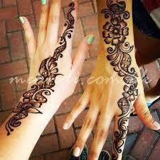 Small Picture Simple Mehndi Designs for Back Hands Small Henna Designs for