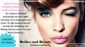 we are mobile wedding makeup and hair professionals here at brides and beauty in melbourne we offer cost effective beauty services for weddings and special