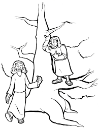 Jesus and zacchaeus coloring pages are a fun way for kids of all ages to develop creativity, focus, motor skills and color recognition. Jesus And Zacchaeus 2 Coloring Page Free Printable Coloring Pages For Kids