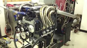 540 ci Big Block Chevy Marine Engine Dyno Pull - YouTube