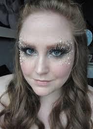 glitter fairy cute idea for makeup