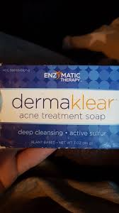 Enzymatic Therapy <b>Dermaklear Acne Treatment</b> Soap - INCI Beauty