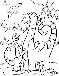 Dino Coloring Book Kleurplaat Dino Dino Riders Coloring Book Free