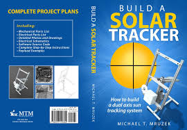 book cover build a solar tracker