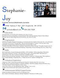 Film Student Resume Cool Blue Resume