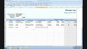 What Is A Mileage Log IRS Compliant Mileage Log Tutorial YouTube 1